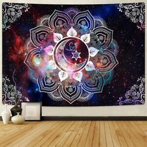 Celestial Galaxy Starry Tapestry Trippy Tapestry Hippie BohoMandala Wall Hanging