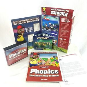 WordSmart Phonics - The Easiest Way to Read Children Software Kit