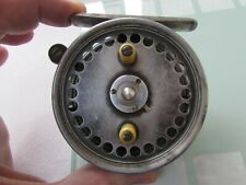 XX rare vintage hardy alnwick silex minor no. 2 silent check fishing reel 3.25""