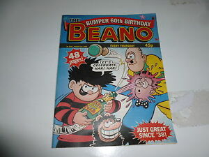 The BEANO Comic - Issue No 2924 - Date 01/08/1998 - 60th Birthday UK Comic
