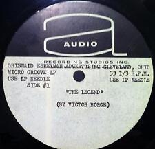 Victor Borge - The Legend LP VG+ Griswald Eshelman Advertising Metal Acetate