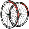 Superteam 700C 50mm Ultra Light Carbon Wheels Clincher Carbon Road Bike Wheelset