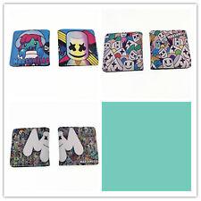 ! lo último! Billetera Monedero de tarjeta de crédito con el logotipo de marshmello Niños Niñas Nuevo colorprinting Cartera