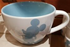 Bol Petit modele Mickey Sellier Bleu / Small Bowl Saddler Blue Disneyland Paris