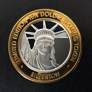 2004 Silverton Casino Liberty Head Silver Strike Las Vegas Nevada A5929