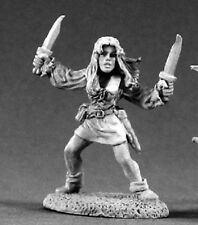 Michelle Dancing Blades Reaper Miniatures Dark Heaven Legends Rogue Assassin