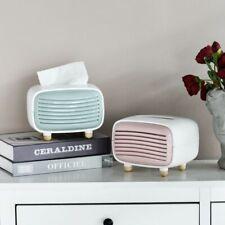 Tissue Box Holder Radio Miniature Napkin Organizer Home Decor Dispenser Case