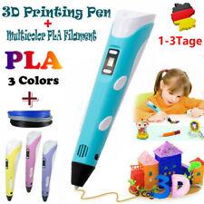 3D-Druckstift 3D Stereoscopic Printing Pen Für Kinder & Erwachsene Geeignet New