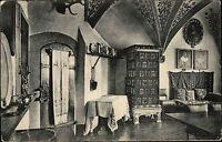 Wierschem Elztal Mayen Koblenz ~1910 Burg Eltz Fahnensaal Innenraum Mittelalter