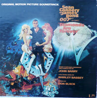 "Sean Connery As James Bond 007 ""Diamonds are Forever"" Soundtrack Uas 5220. 1971"