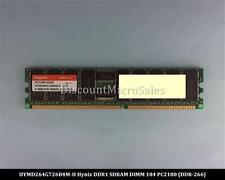 Hynix HYMD264G726B4M-H DDR 512MB PC-2100 Reg ECC 266Mhz RAM Memory