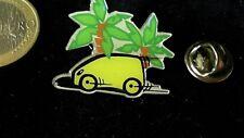 Mercedes Benz daimler chrysler pin badge MB a clase palmeras variante blanca