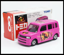 TOMICA DISNEY THE INCREDIBLES TOYOTA bB 1/60 TOMY 5 DIECAST CAR NEW
