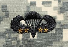 20 Pack Army Airborne Combat Parachutist 4th Award Embroidered ACU Camo Patches