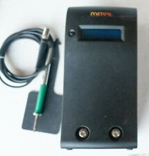 Metcal Mx Ps5000 2 Port Smartheat Soldering Station Hand Piece Cartridge Tested