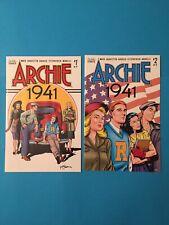 Archie 1941 #1 & #2, 2018 VF/NM