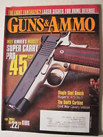 Guns & Ammo Magazine. October 2010. Kimber .45 ACP/ Smith Civil War Carbine