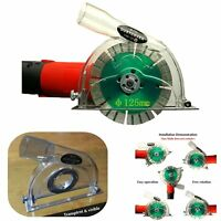 """Dust Cutting Shroud Grinding Hood Cover For Angle Grinder & 3"""" 4"""" 5"""" Saw Blades"""
