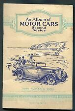 1937 Complete Album - John Player - Motor Cars Second Series