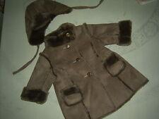 Magnifique  manteau  jacadi et son chapeau T 6 mois    NEUF