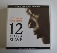 12 Years A Slave: by Solomon Northup - Unabridged Audiobook - 6CDs