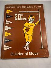 Northside Youth Organization 1971 Yearbook Atlanta Georgia Football Pop Warner