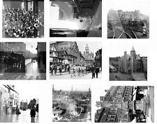 SHREWSBURY. 86 GREAT OLD PHOTOGRAPHS C1900S-1960. POSTCARD SIZE 6X4