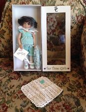 "8"" Vinyl Doll Berdine Creedy I Love Tea Time Also #123/130 in Original Box COA"
