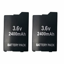 2 pack BATTERY For PSP SONY PLAYSTATION PSP 2000 PSP 3000 RECHARGEABLE BATTERY