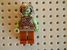 LEGO Minifigure Troll Warship Warrior Castle Fantasy Era Skull