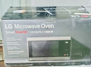 LG Smart Investor 1.5 CU.FT. LMC1575ST 1200W Countertop Microwave Oven
