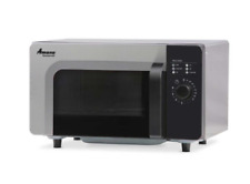 Amana RMS10DS, Commercial Microwave Oven, 0.8 Cu. Ft., 1000 Watt, Dial Control