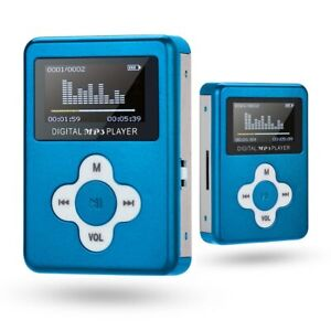 Mini MP3 Player with LCD Screen Support 32GB