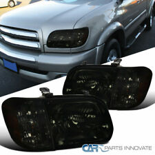 For 05-06 Toyota Tundra Double Cab 05-07 Sequoia Smoke Headlights Corner Lamps