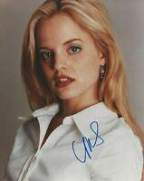 Photo signed by MENA SUVARI, with COA, 8x10, American Pie, American Beauty