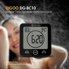 Digoo Digital LCD Bathroom Waterproof Wall Alarm Clock Countdown Timer Real Time