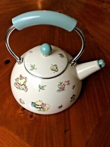 """VINTAGE WALT DISNEY WORLD AT HOME COLLECTION """"WINNIE THE POOH & FRIENDS"""" TEAPOT"""