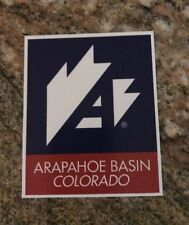 Arapahoe Basin Sticker - Skiing Snowboarding Ski Colorado Mountain Sports