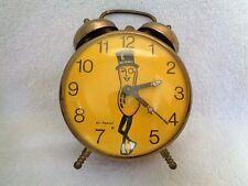 1960's-70's Planters Mr.Peanut Robertshaw Lux Time Div.Lebanon Tenn Alarm Clock