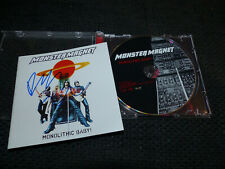 """MONSTER MAGNET Dave signed signiert Autogramm """"MONOLITHIC BABY"""" CD InPerson"""