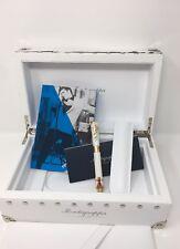 MONTEGRAPPA White & Gold Plated Elvis Presley Las Vegas Fountain Pen £2,700