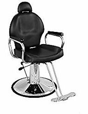Durable Stainless Steel Frame & Easy to Install Hydraulic Barber Salon Spa Chair