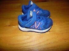 New Balance Fuel Core Urge Sneakers Shoes Infant Sz 5 Great Blue Hook & Loop