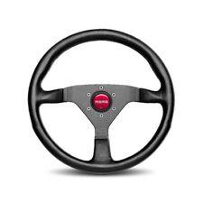 Momo Monte Carlo Black Anodize Aluminum 350 Mm Steering Wheel P/N Mcl35bk3b
