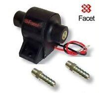 Facet Electric Fuel Pump 4-7 psi with 2x 10mm unions Carburettor Weber Dellorto