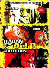 Italian Giallo Collection. 4 Disc Boxset. Brand New In Shrink! R4