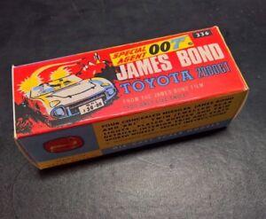 Corgi James Bond No 336 Toyota 2000 GT EMPTY Reproduction outer box only NO CAR
