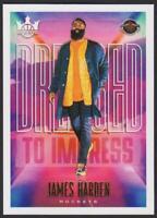 2019-20 Court Kings Dressed to Impress #9 James Harden Houston Rockets