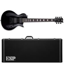 ESP LTD EC-1007 ET Evertune Black BLK 7-String Electric Guitar + Hard Case EC