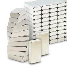 10X Super Strong Block Magnets N35  NdFeB Rare Earth Neodymium 20x10x2mm NEW